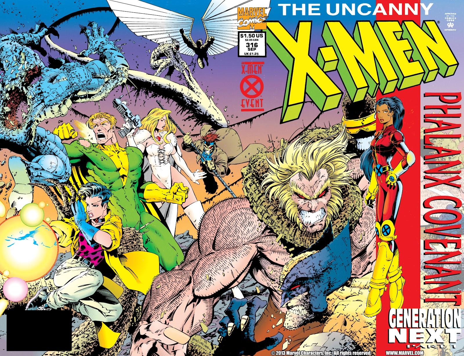 Uncanny X-Men (1963) issue 316 - Page 2