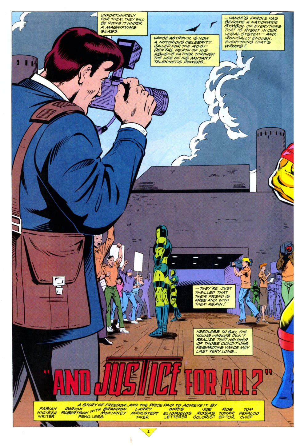 The New Warriors Issue #43 #47 - English 3