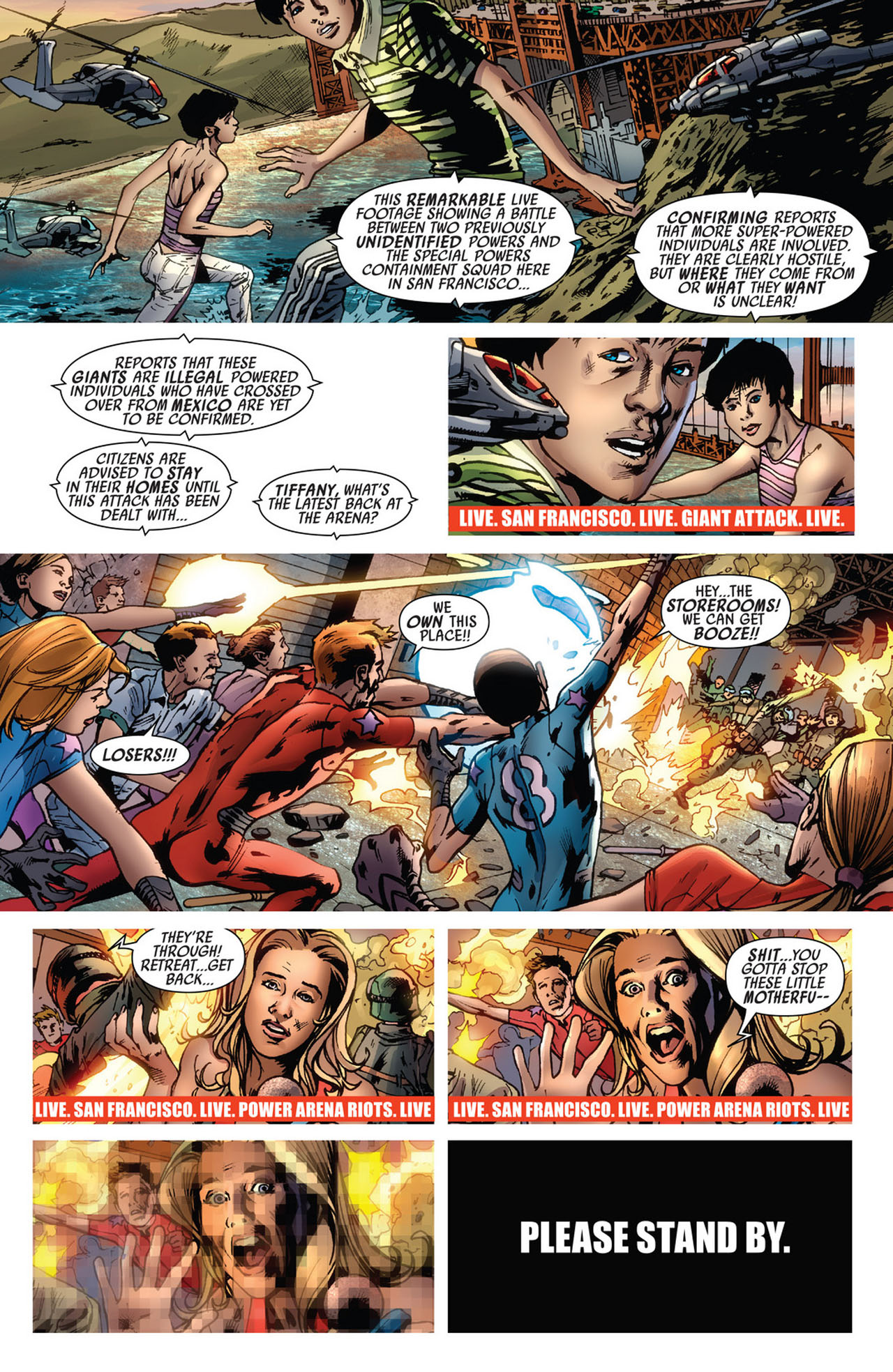 Read online America's Got Powers comic -  Issue #5 - 11