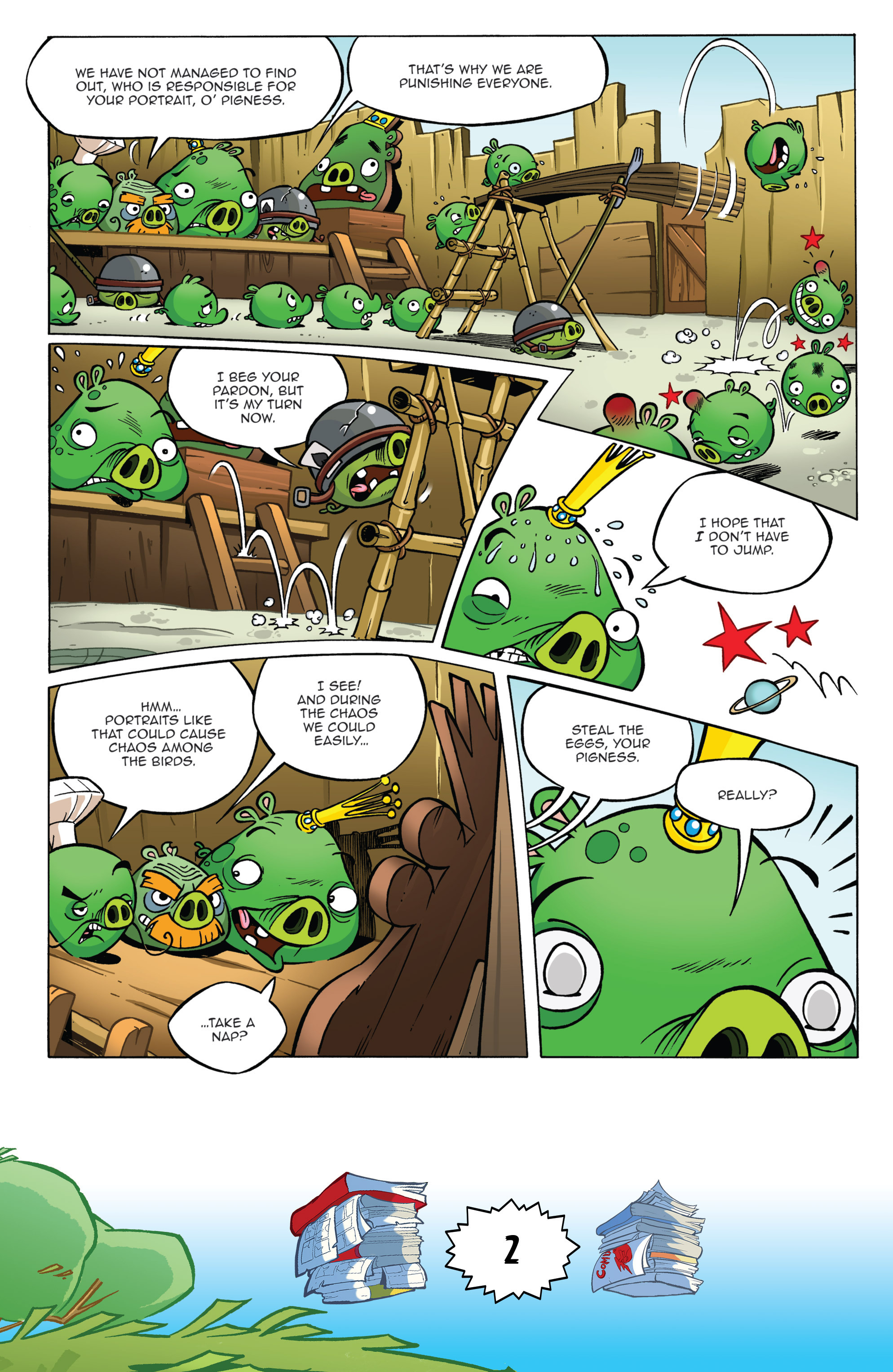 Read online Angry Birds Comics (2016) comic -  Issue #6 - 4