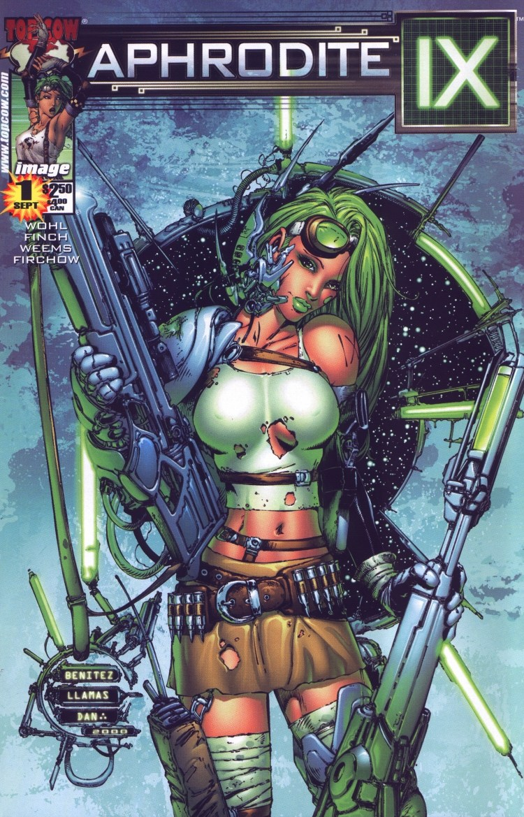 Read online Aphrodite IX (2000) comic -  Issue #1 - 4