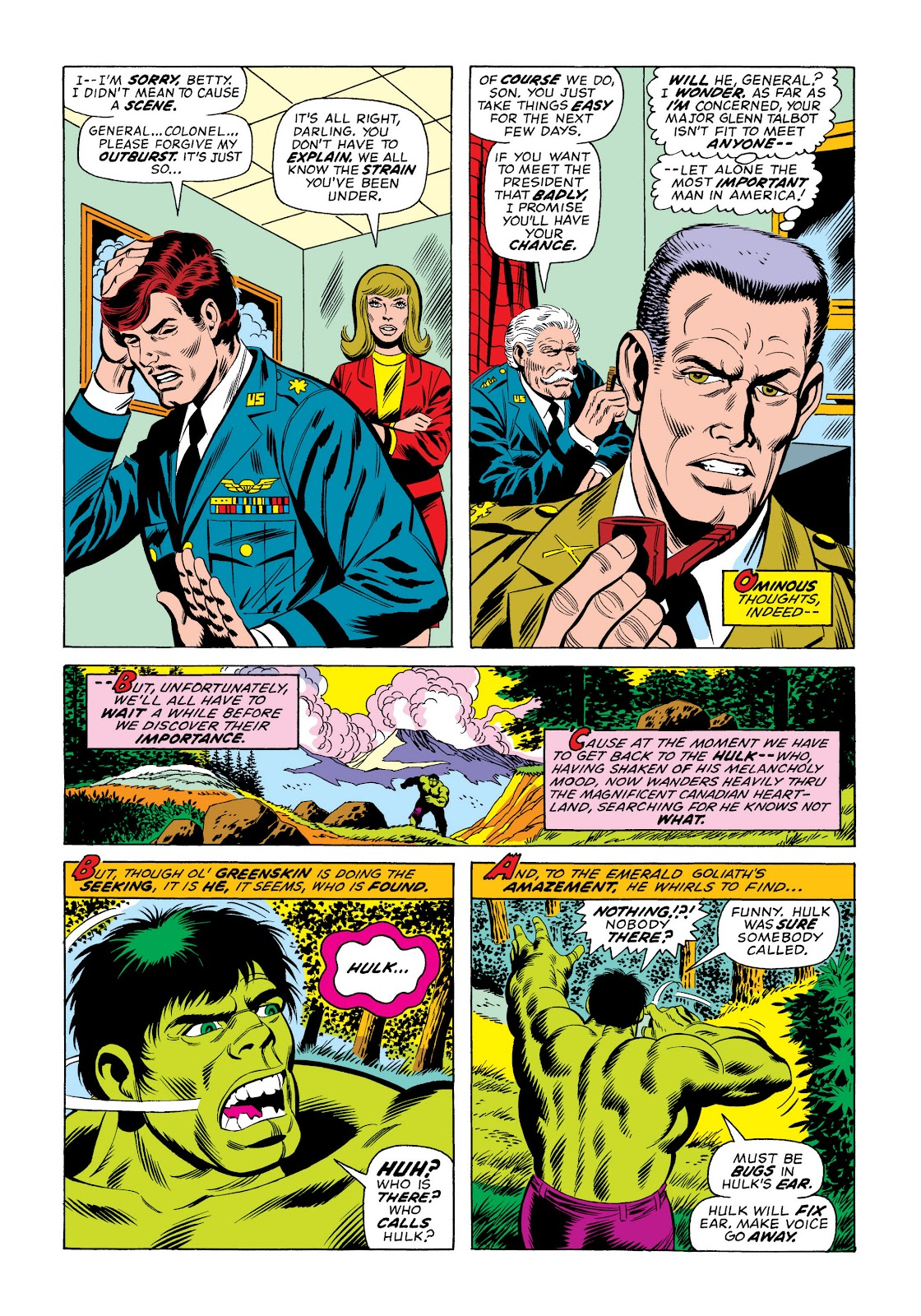 Read online Marvel Masterworks: The Incredible Hulk comic -  Issue # TPB 10 (Part 2) - 92