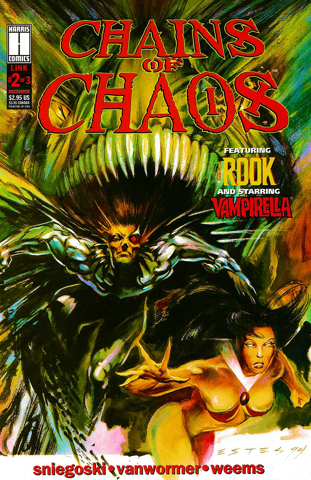 Read online Chains of Chaos comic -  Issue #2 - 1