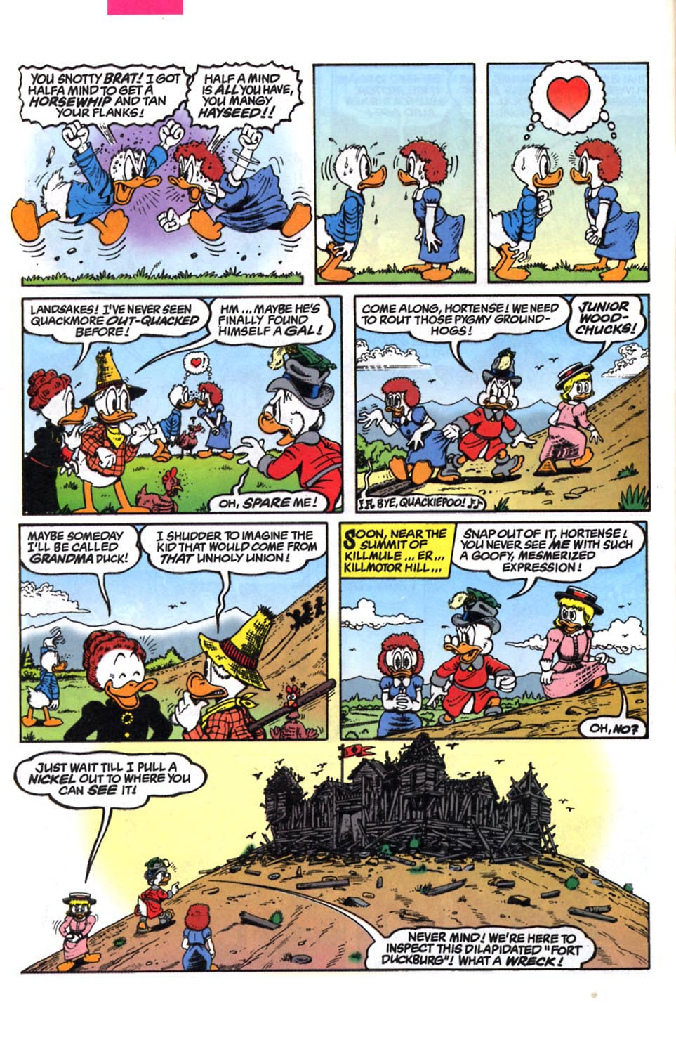 Read online Uncle Scrooge (1953) comic -  Issue #294 - 5