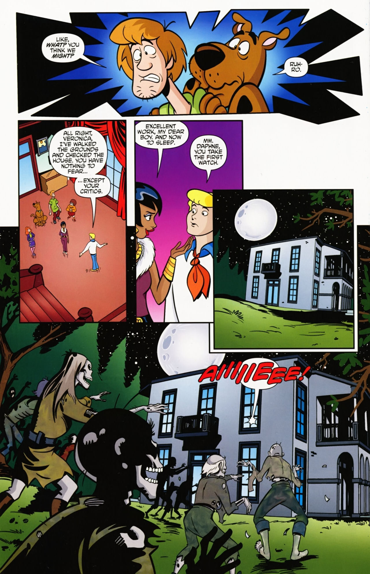 Read online Scooby-Doo: Where Are You? comic -  Issue #6 - 12