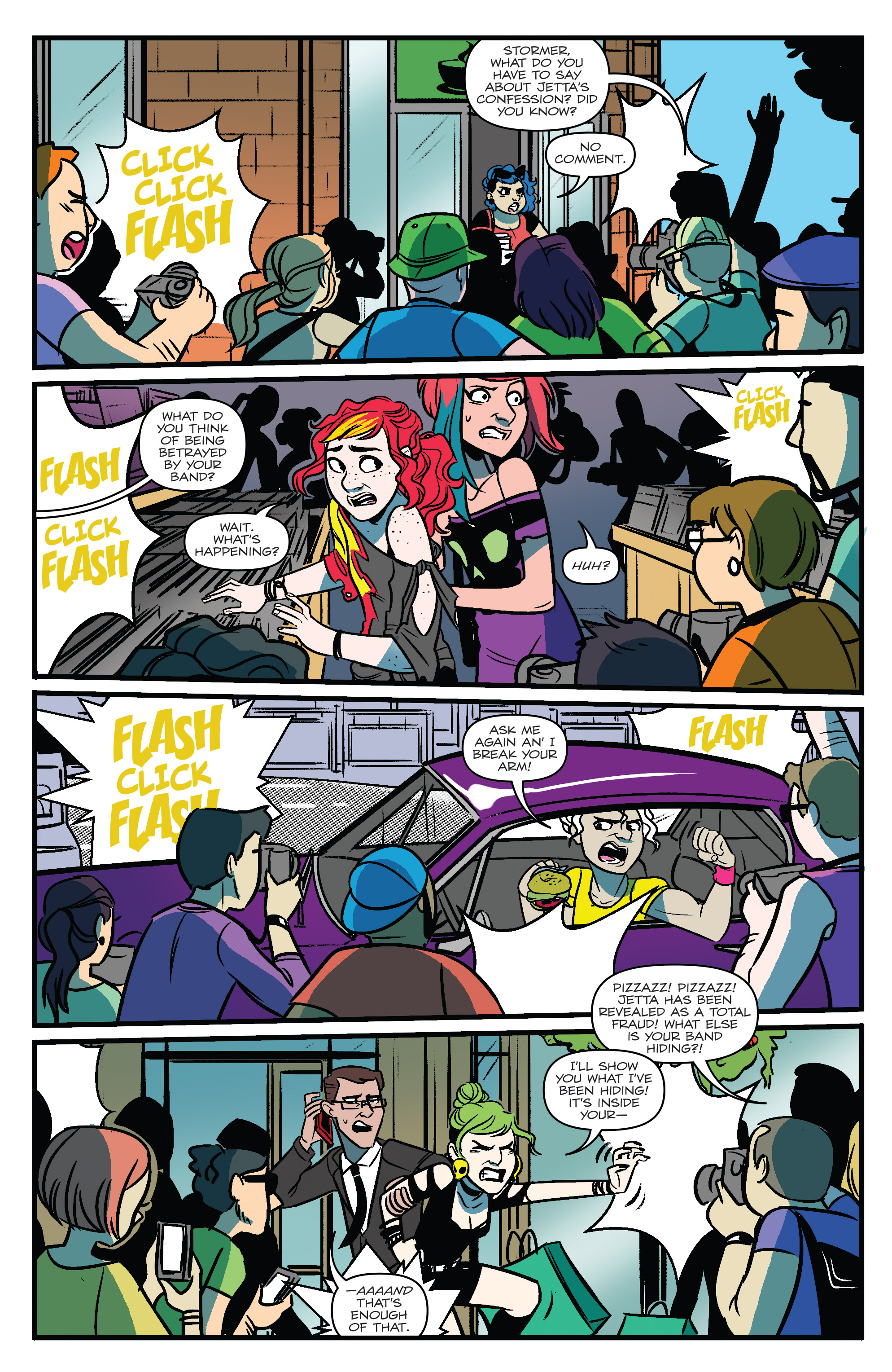 Read online Jem: The Misfits comic -  Issue #5 - 5