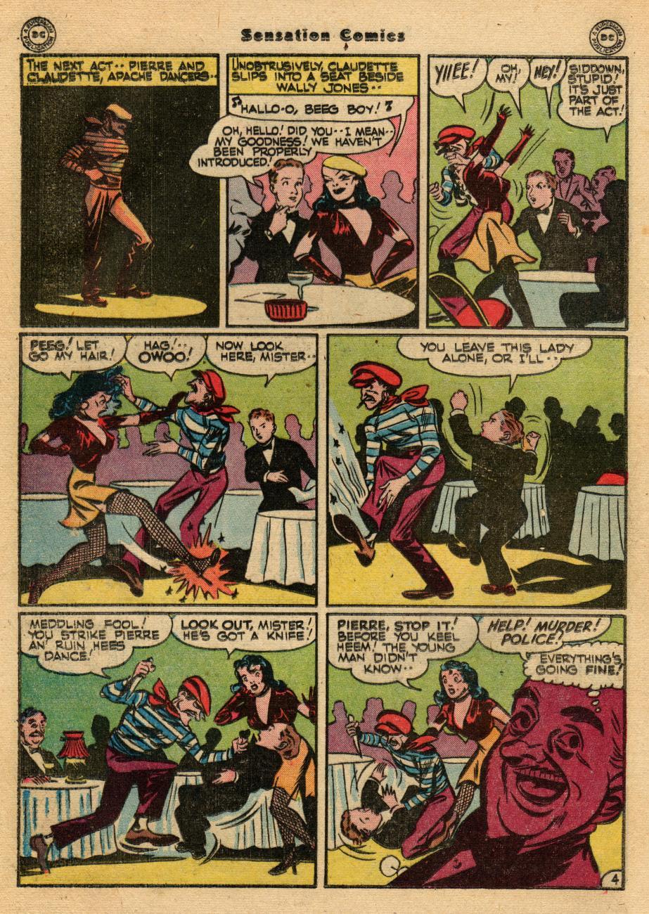 Read online Sensation (Mystery) Comics comic -  Issue #61 - 28