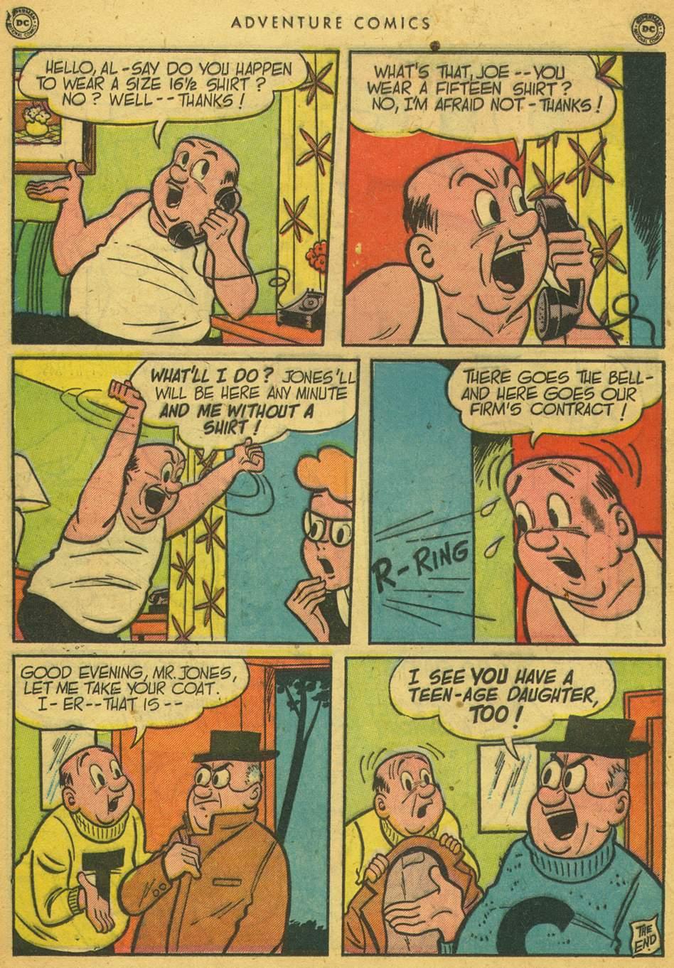 Read online Adventure Comics (1938) comic -  Issue #164 - 36