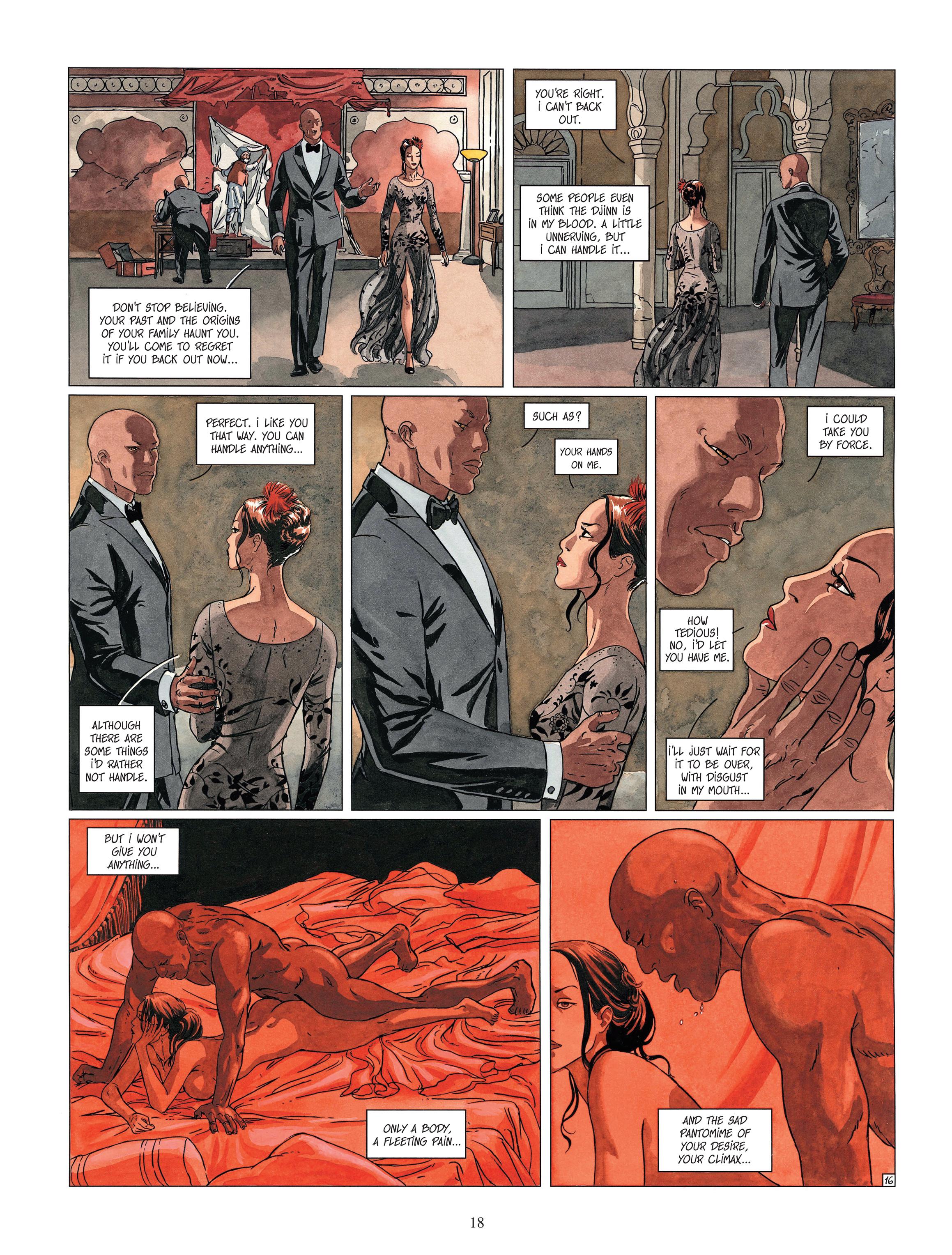 Read online Djinn comic -  Issue #13 - 19