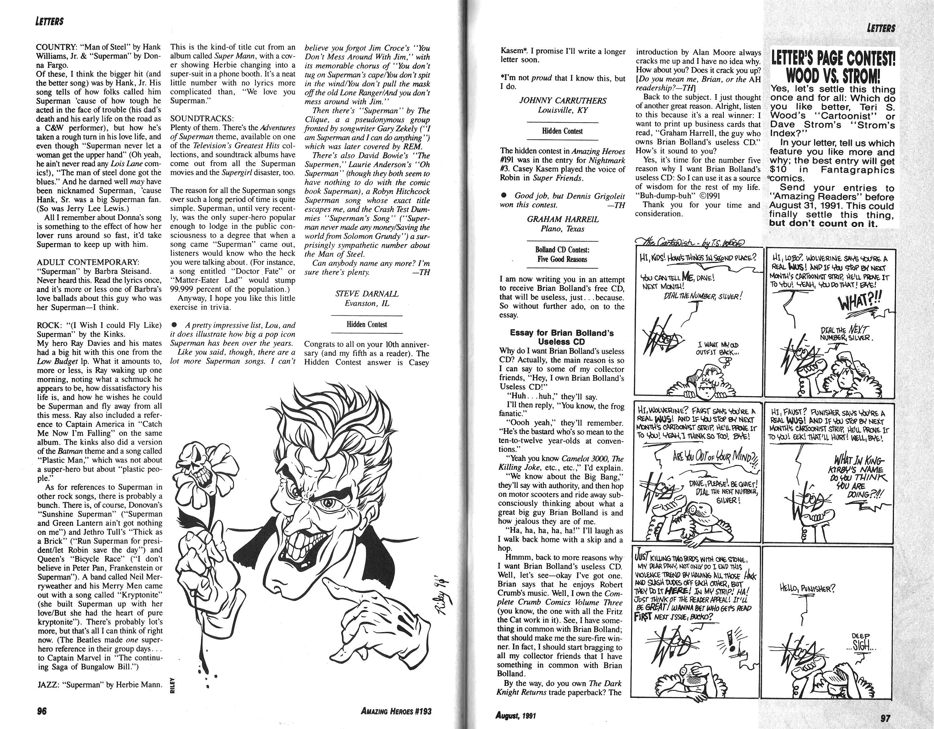 Read online Amazing Heroes comic -  Issue #193 - 49