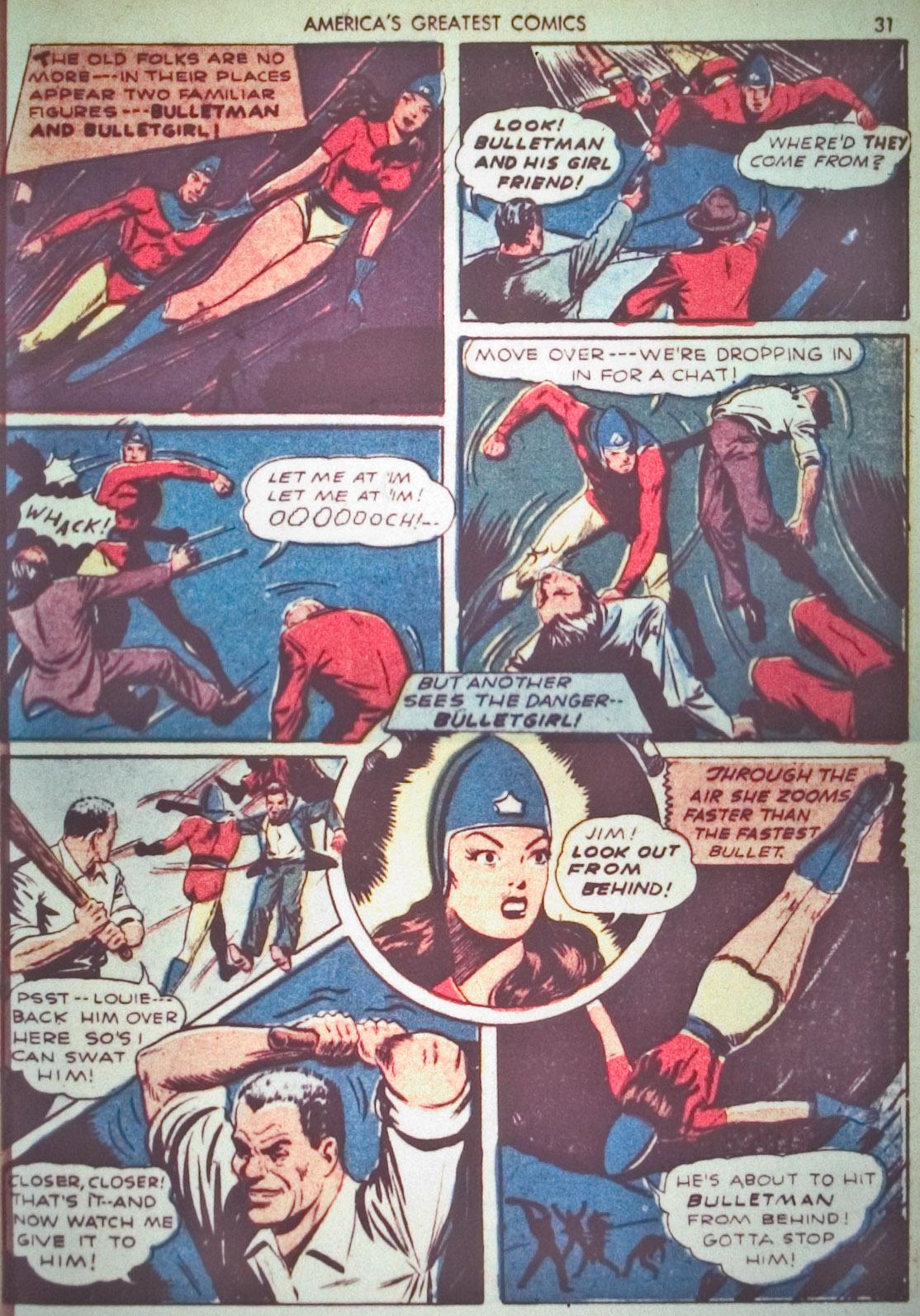 Read online America's Greatest Comics comic -  Issue #1 - 34