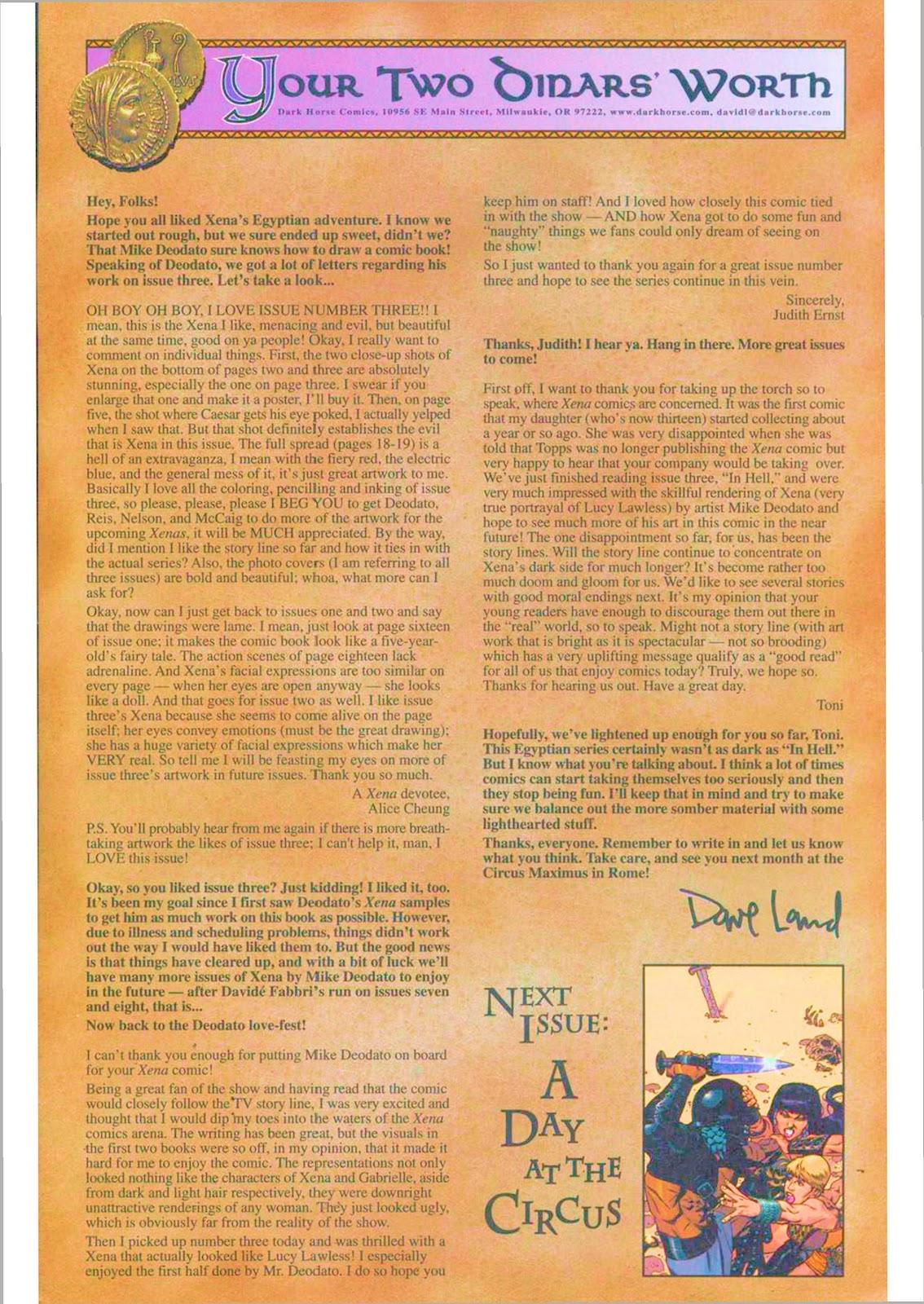 Xena: Warrior Princess (1999) Issue #6 #6 - English 24