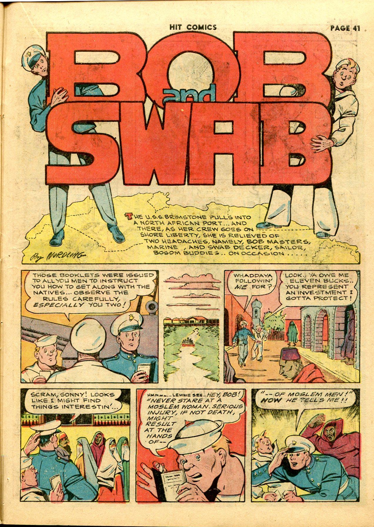Read online Hit Comics comic -  Issue #28 - 44