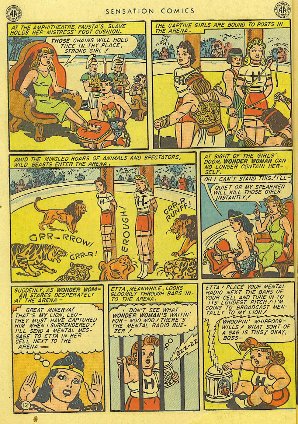 Read online Sensation (Mystery) Comics comic -  Issue #39 - 14