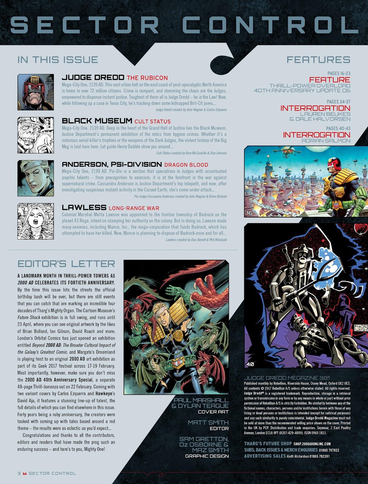Judge Dredd Megazine (Vol. 5) Issue #381 #180 - English 3
