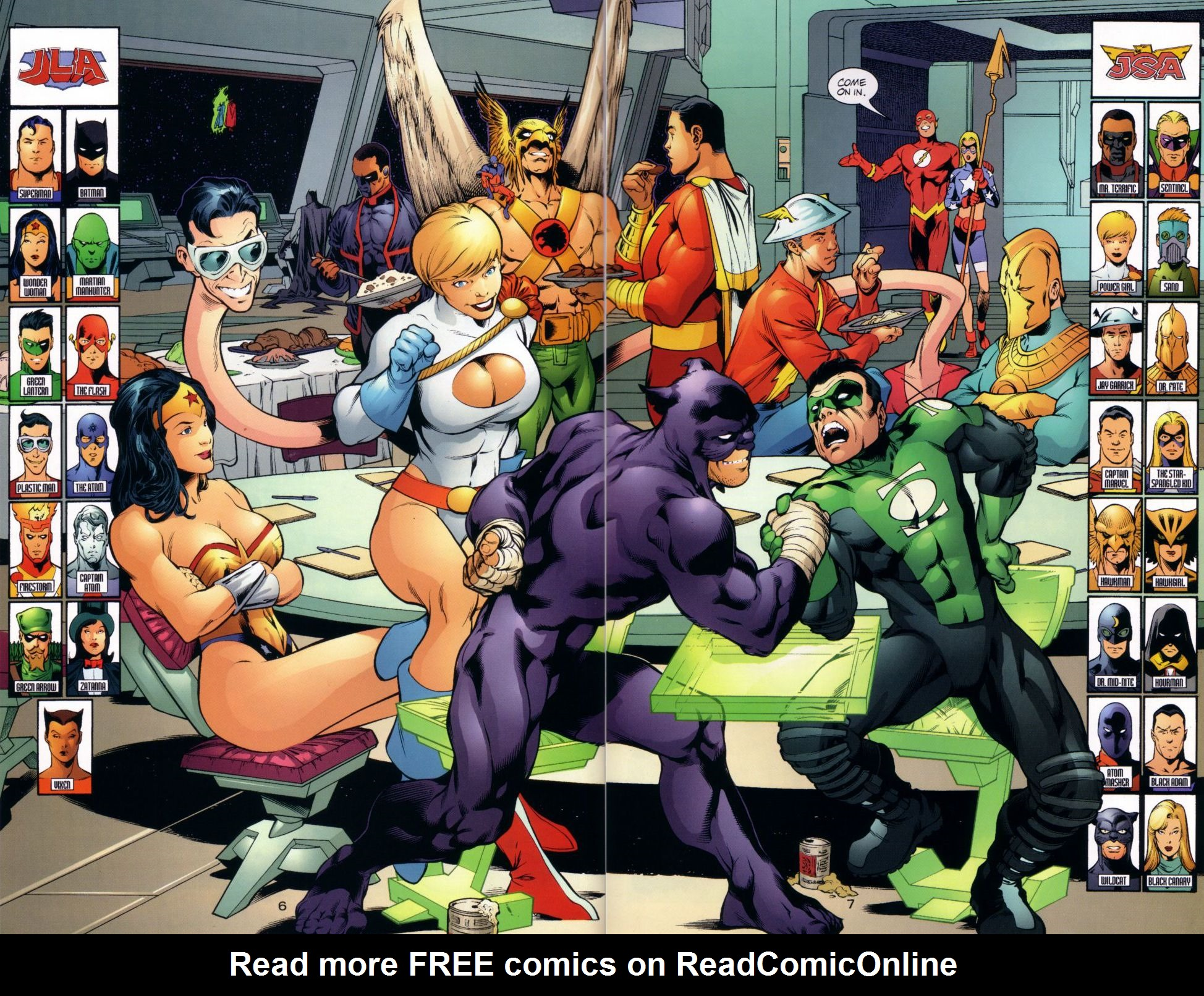 Read online JLA/JSA: Virtue and Vice comic -  Issue # TPB - 10
