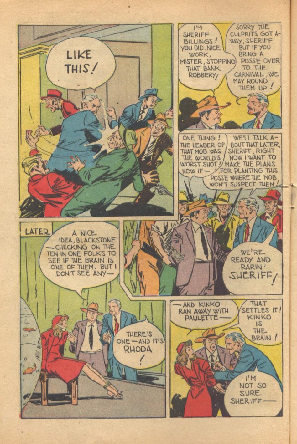 Read online Super-Magician Comics comic -  Issue #37 - 11
