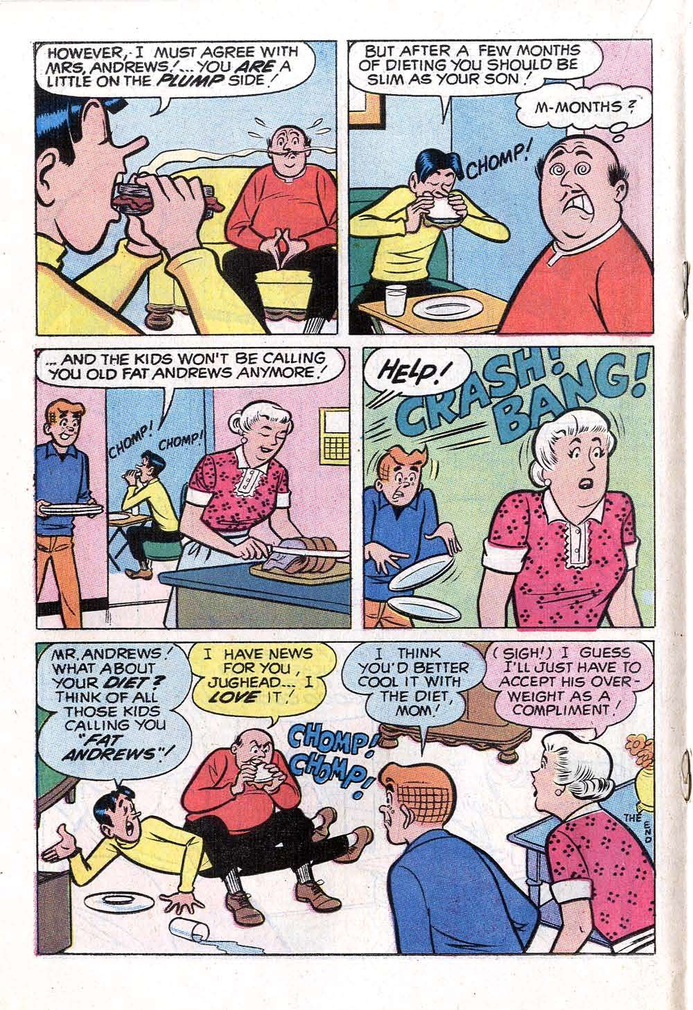 Read online Archie (1960) comic -  Issue #199 - 18