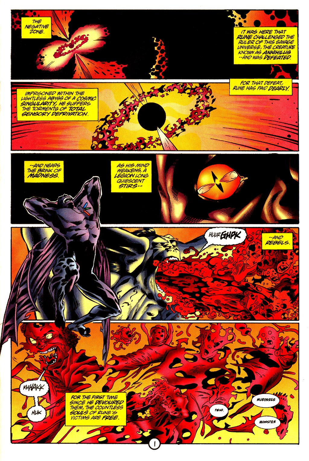 Read online Rune (1995) comic -  Issue #4 - 2