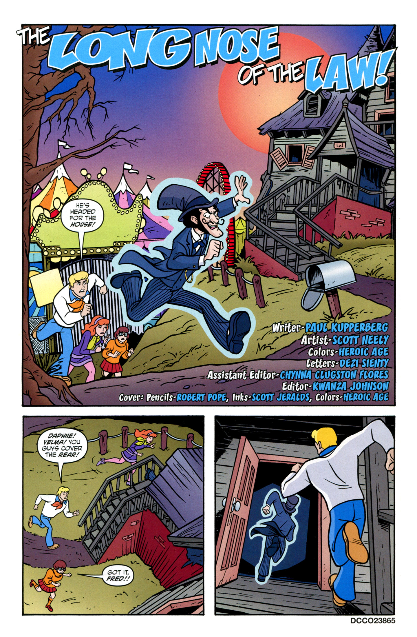 Read online Scooby-Doo: Where Are You? comic -  Issue #14 - 3