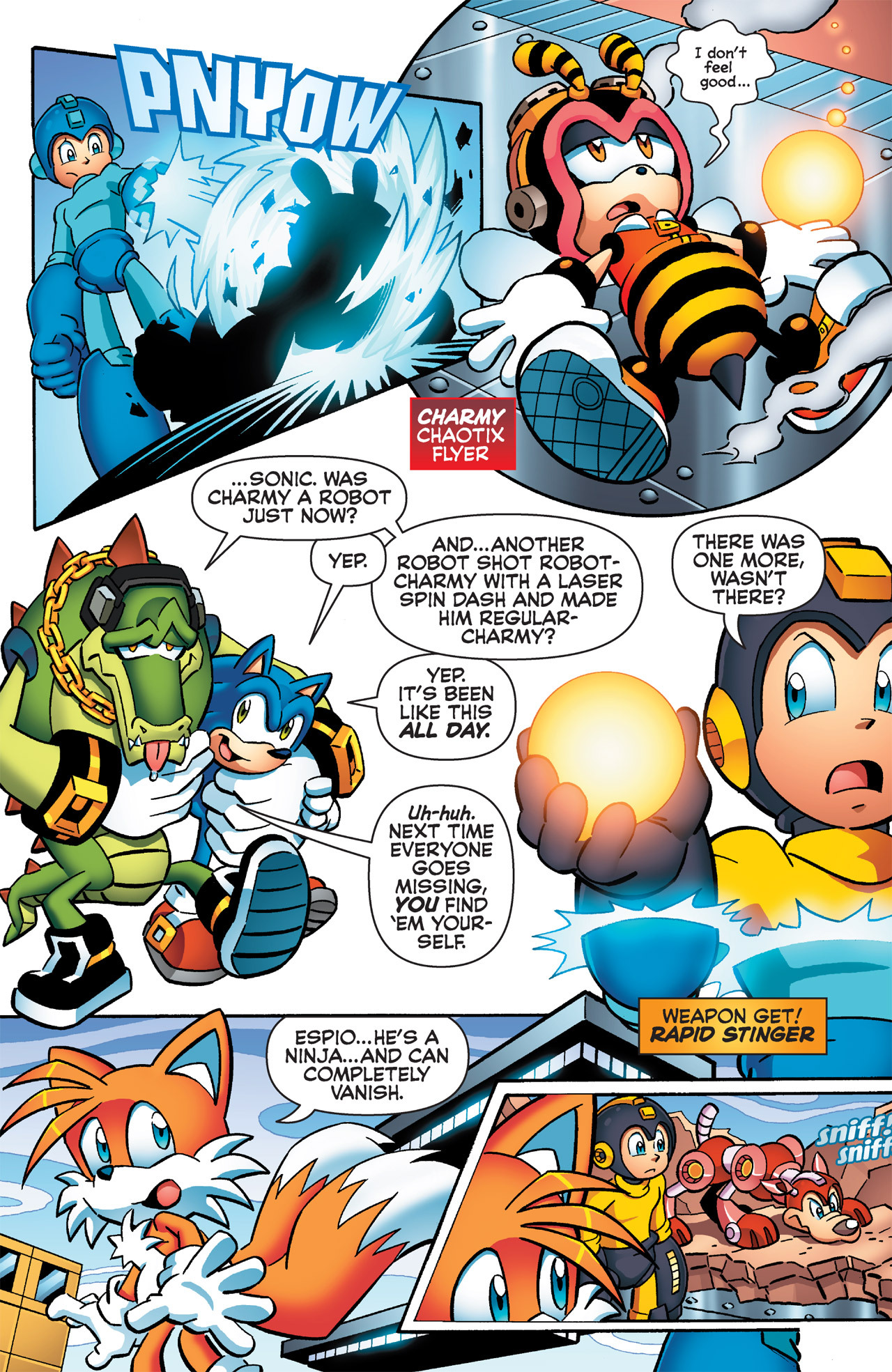 Read online Sonic Mega Man Worlds Collide comic -  Issue # Vol 2 - 47