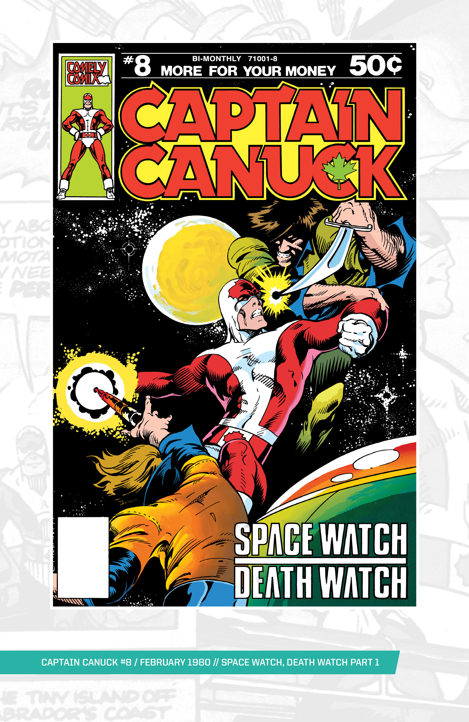 Captain Canuck (1975) 8 Page 1