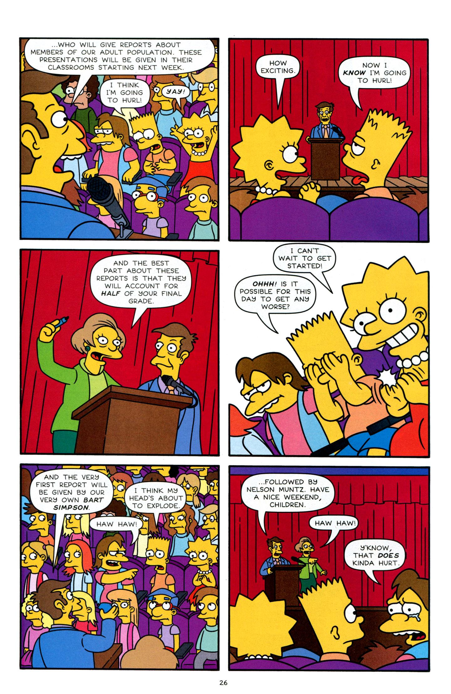 Read online Simpsons Comics Presents Bart Simpson comic -  Issue #63 - 27