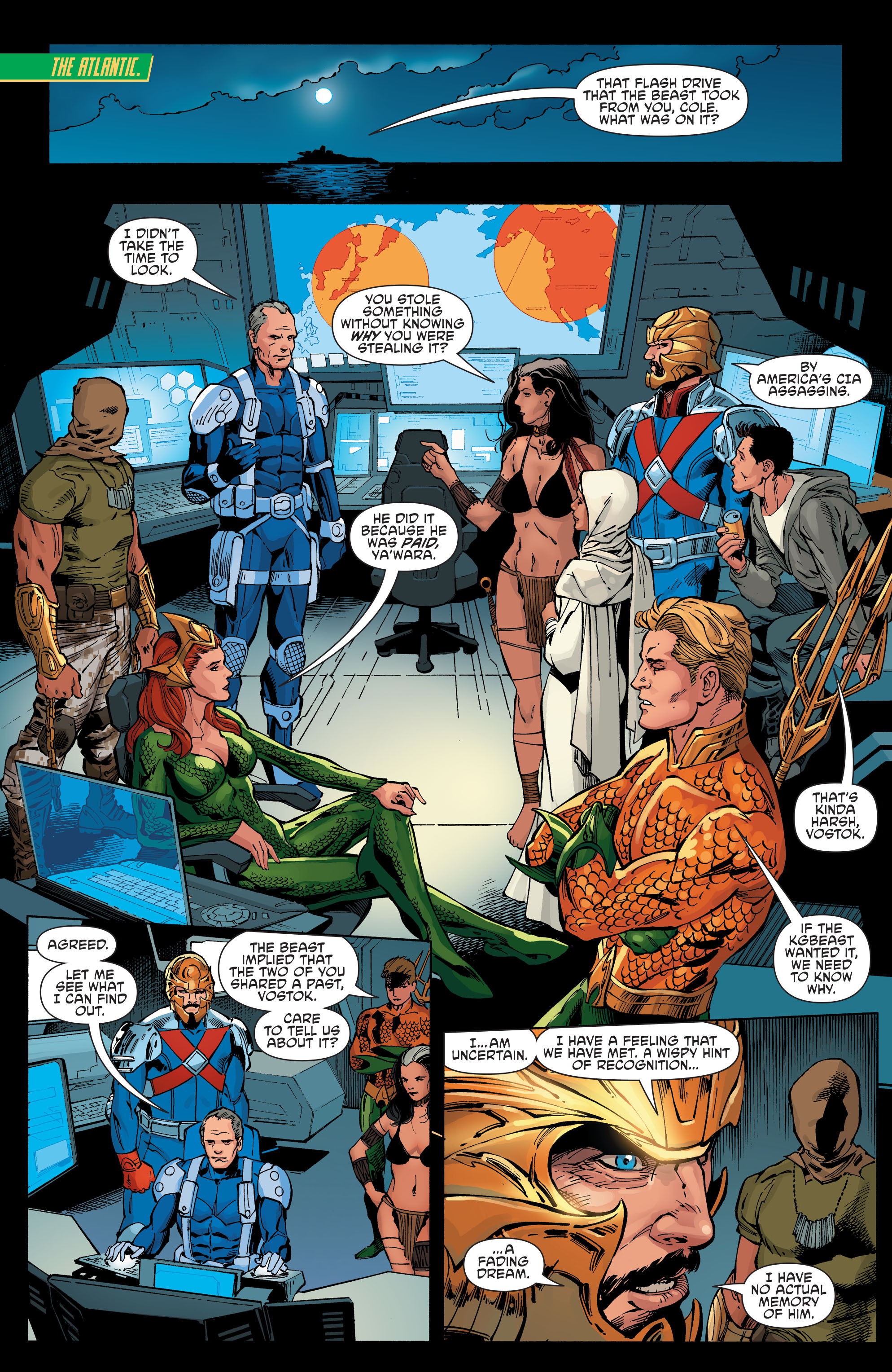 Read online Aquaman and the Others comic -  Issue #8 - 11