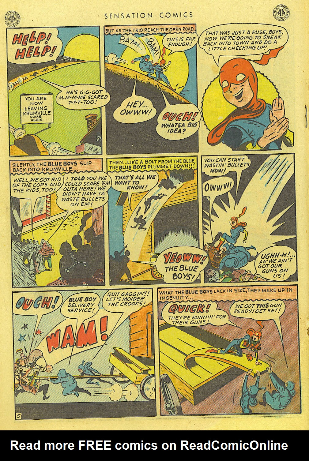 Read online Sensation (Mystery) Comics comic -  Issue #39 - 26