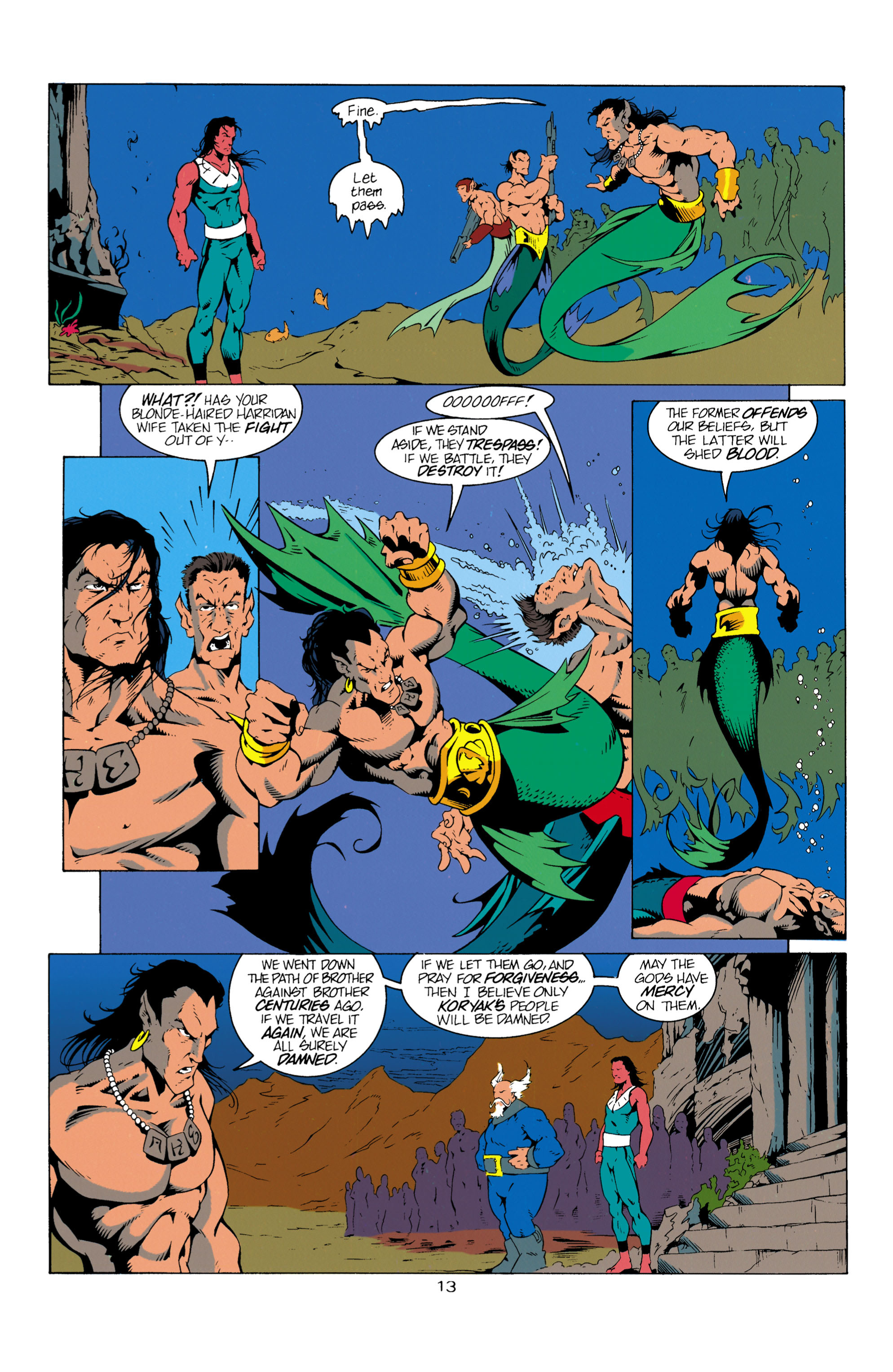 Read online Aquaman (1994) comic -  Issue #13 - 14