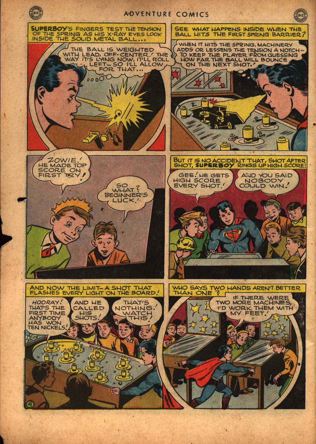 Read online Adventure Comics (1938) comic -  Issue #109 - 6