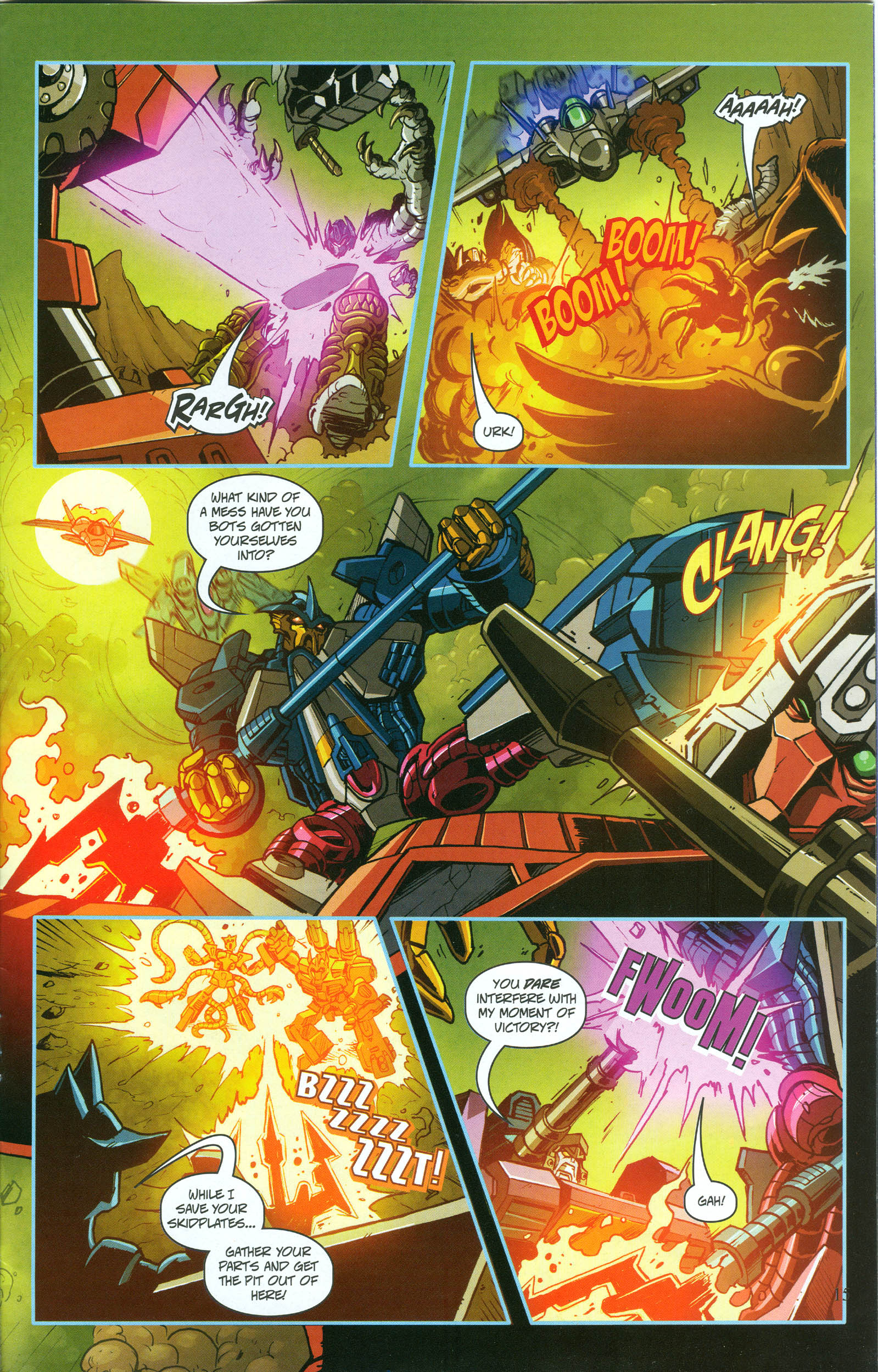 Read online Transformers: Collectors' Club comic -  Issue #50 - 11