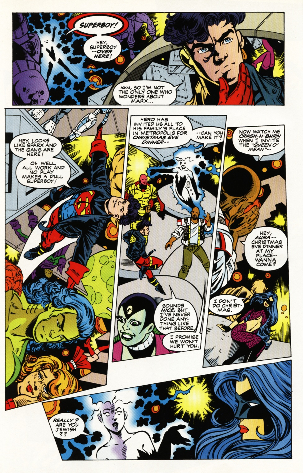 Read online Superboy & The Ravers comic -  Issue #5 - 5