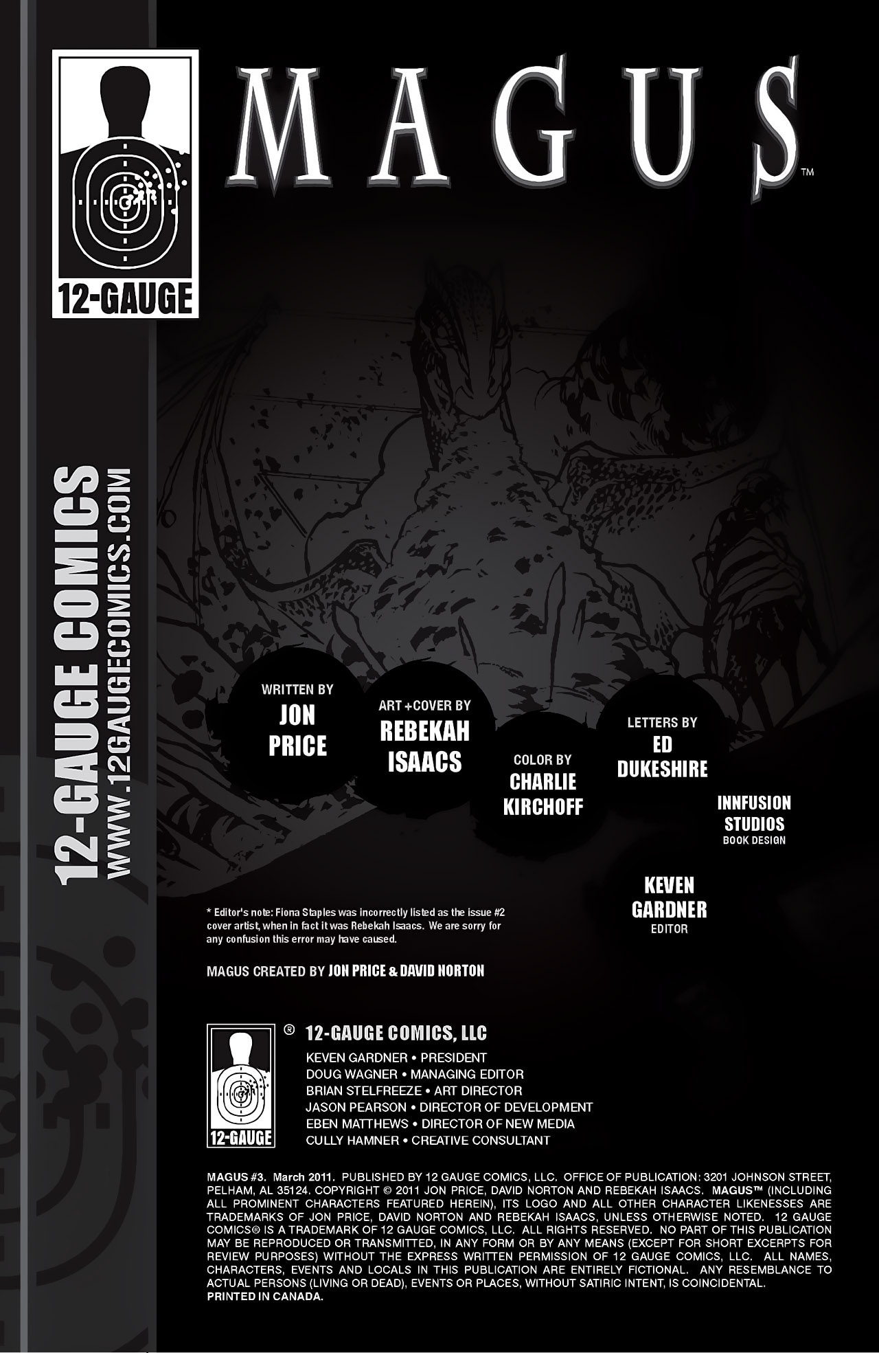 Read online Magus comic -  Issue #3 - 2