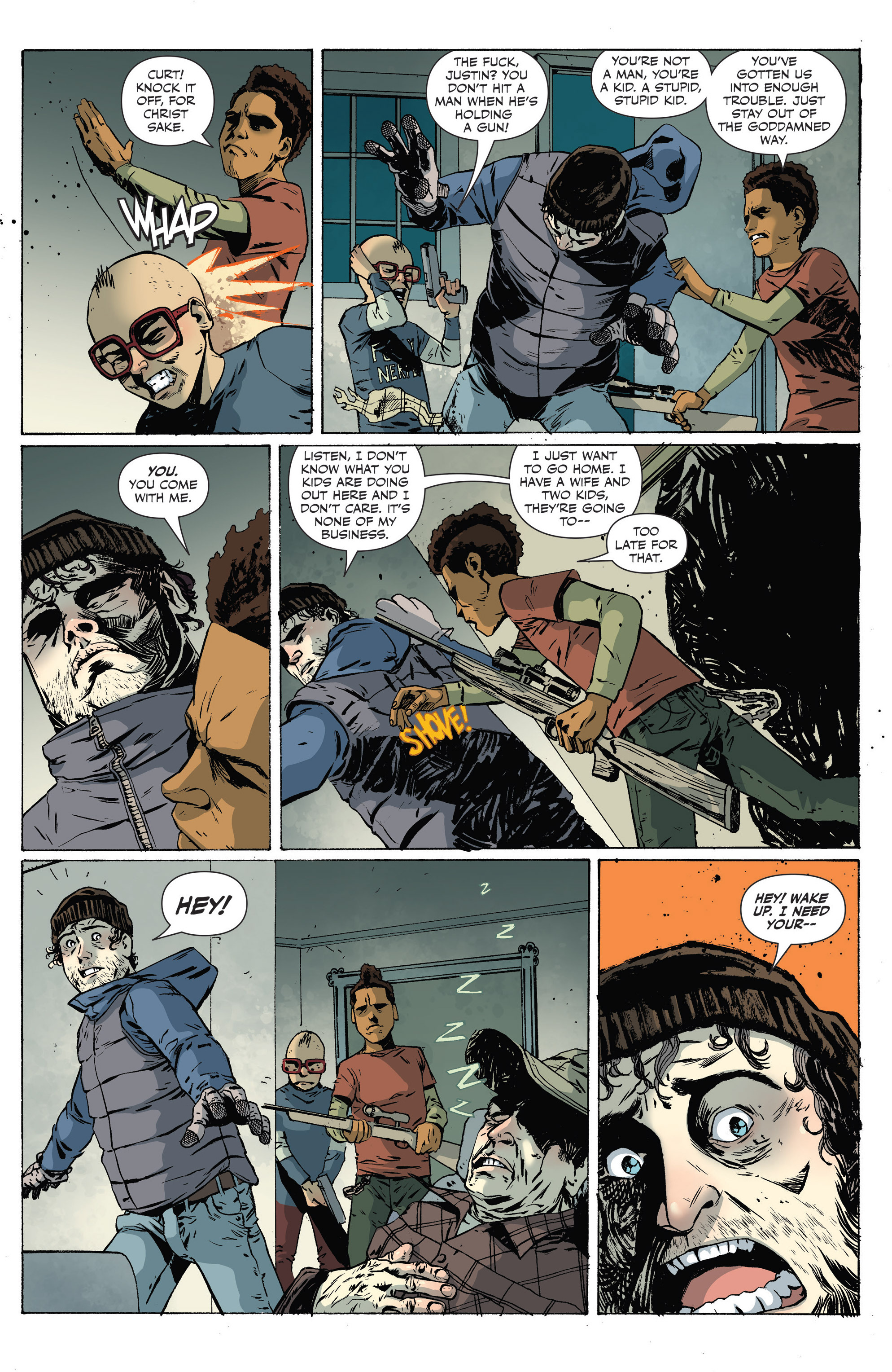 Read online Sheltered comic -  Issue #9 - 9