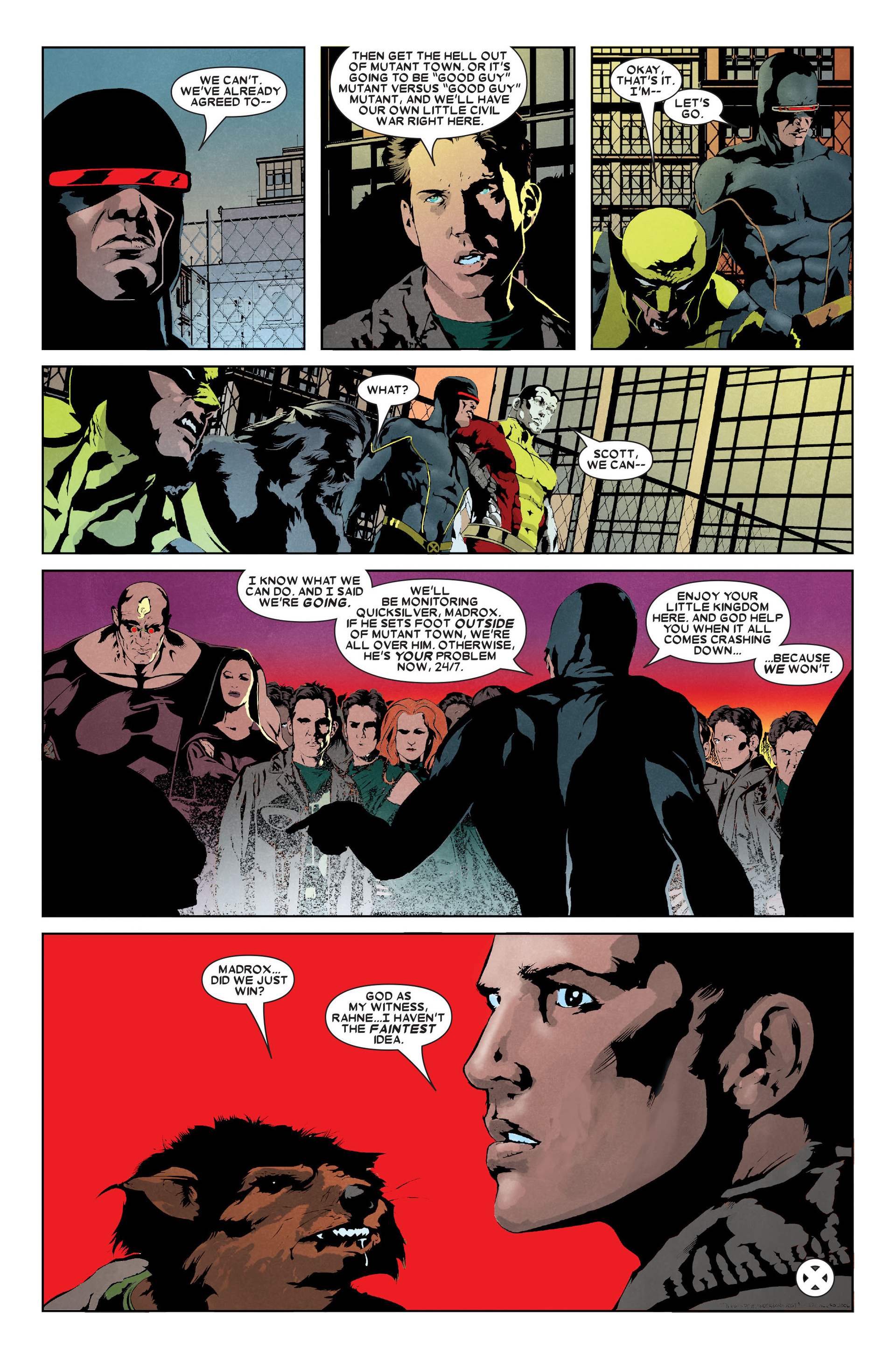 Read online X-Factor (2006) comic -  Issue #9 - 23