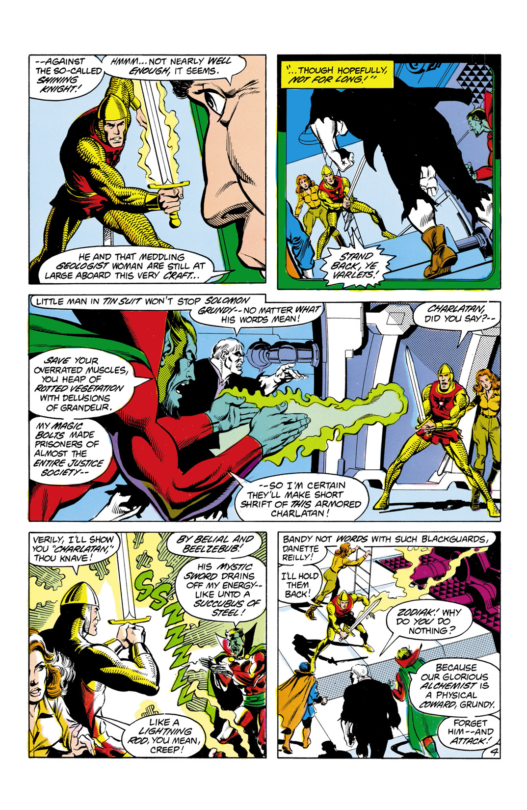 Read online All-Star Squadron comic -  Issue #3 - 5