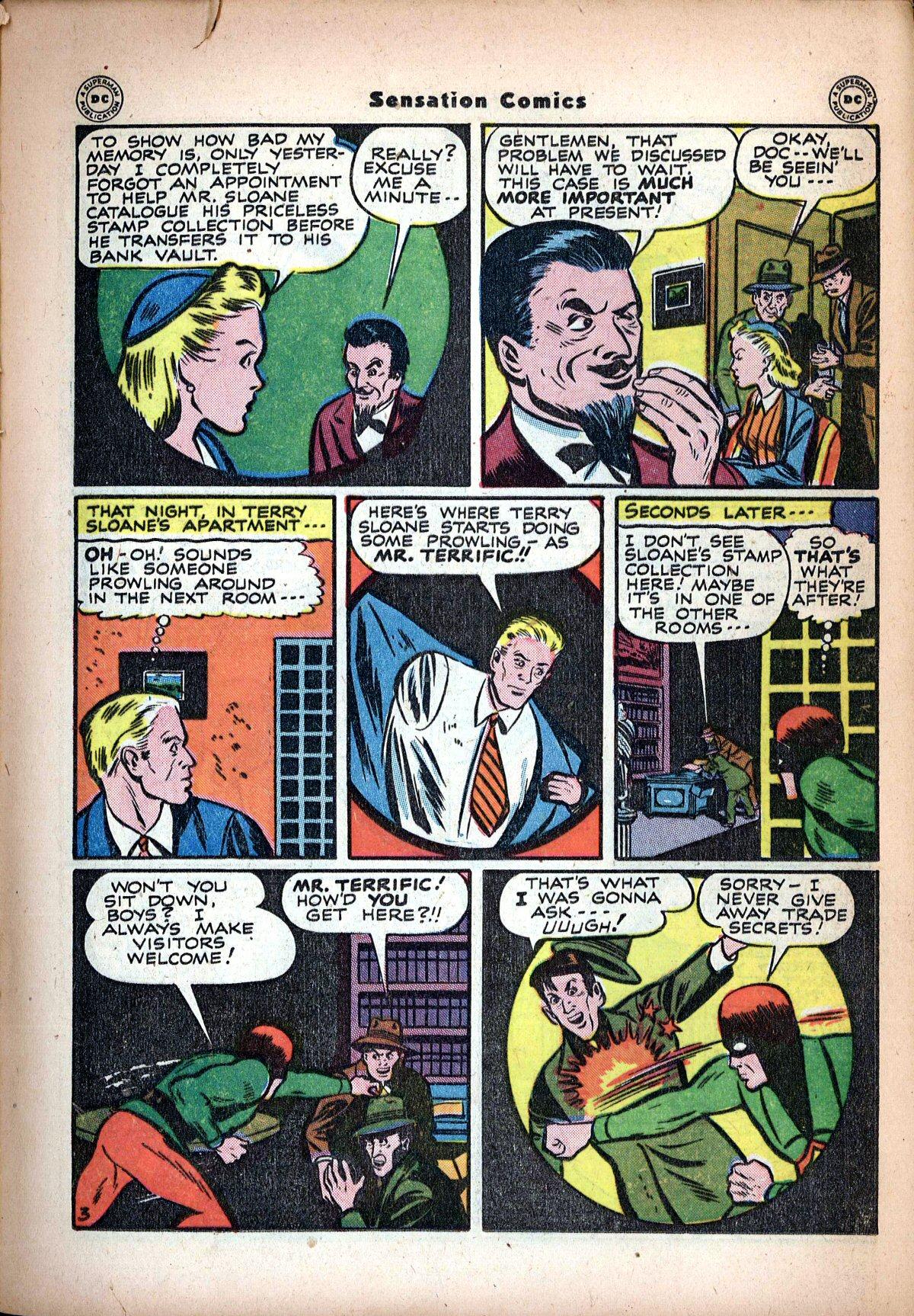 Read online Sensation (Mystery) Comics comic -  Issue #62 - 37