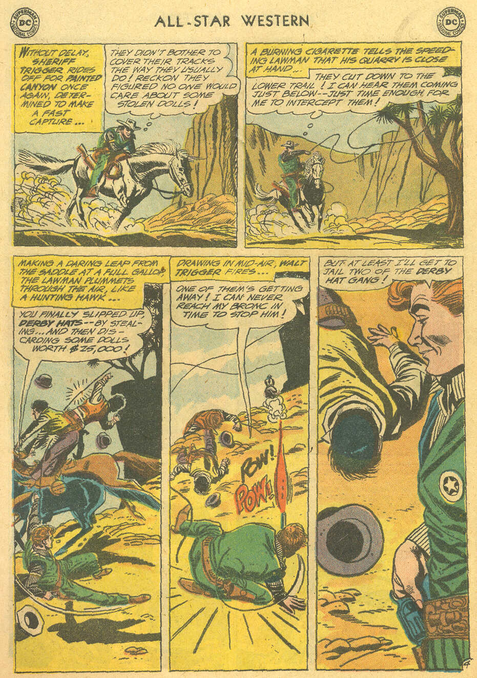 Read online All-Star Western (1951) comic -  Issue #114 - 28