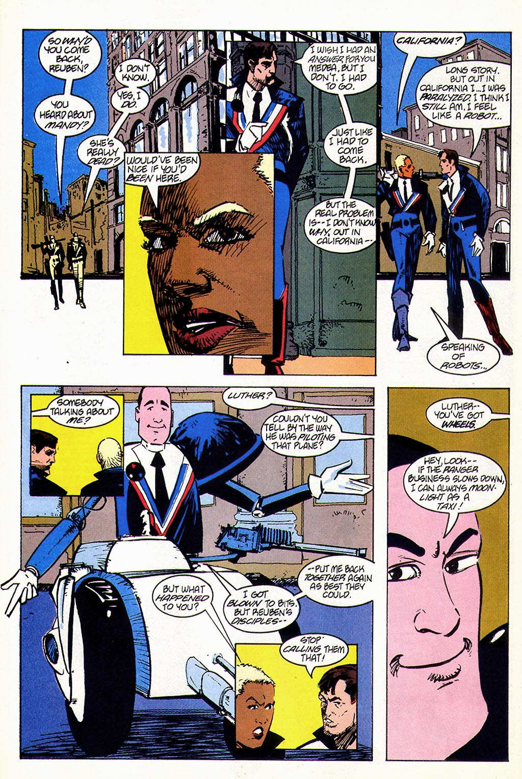 Read online American Flagg! comic -  Issue #45 - 8