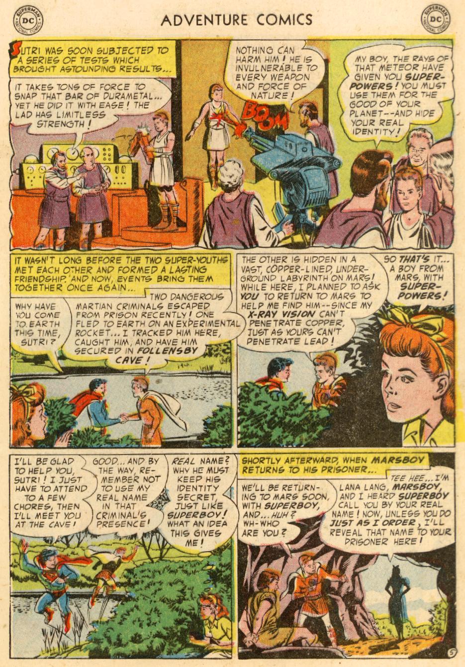 Read online Adventure Comics (1938) comic -  Issue #195 - 7