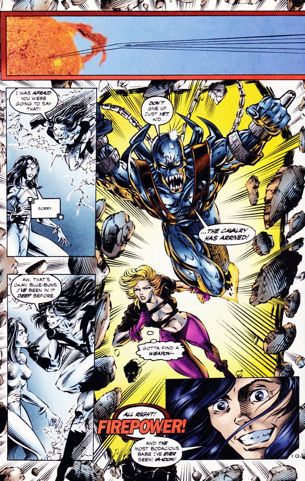 Read online The Alliance comic -  Issue #3 - 11