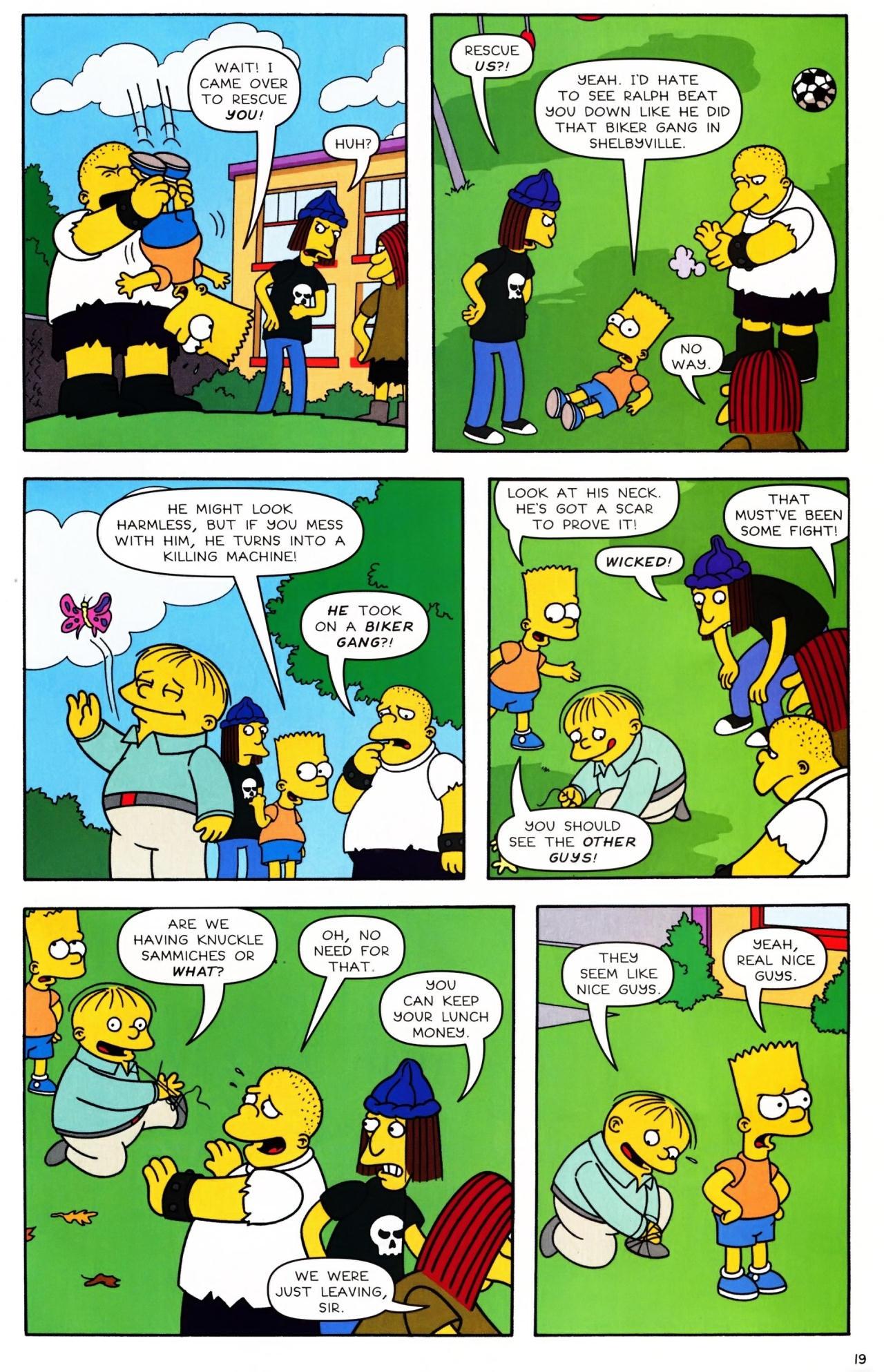 Read online Simpsons Comics Presents Bart Simpson comic -  Issue #42 - 21