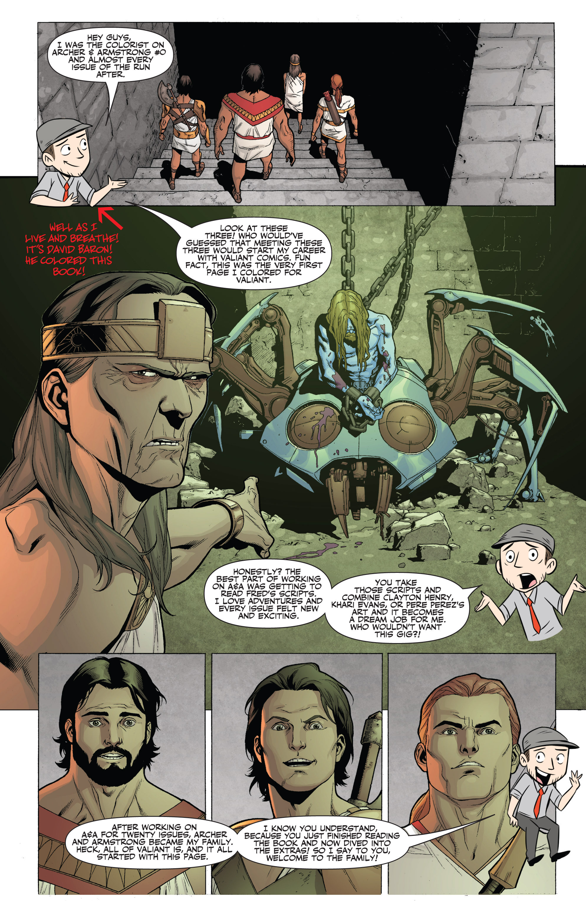 Read online Archer and Armstrong comic -  Issue #Archer and Armstrong _TPB 7 - 99