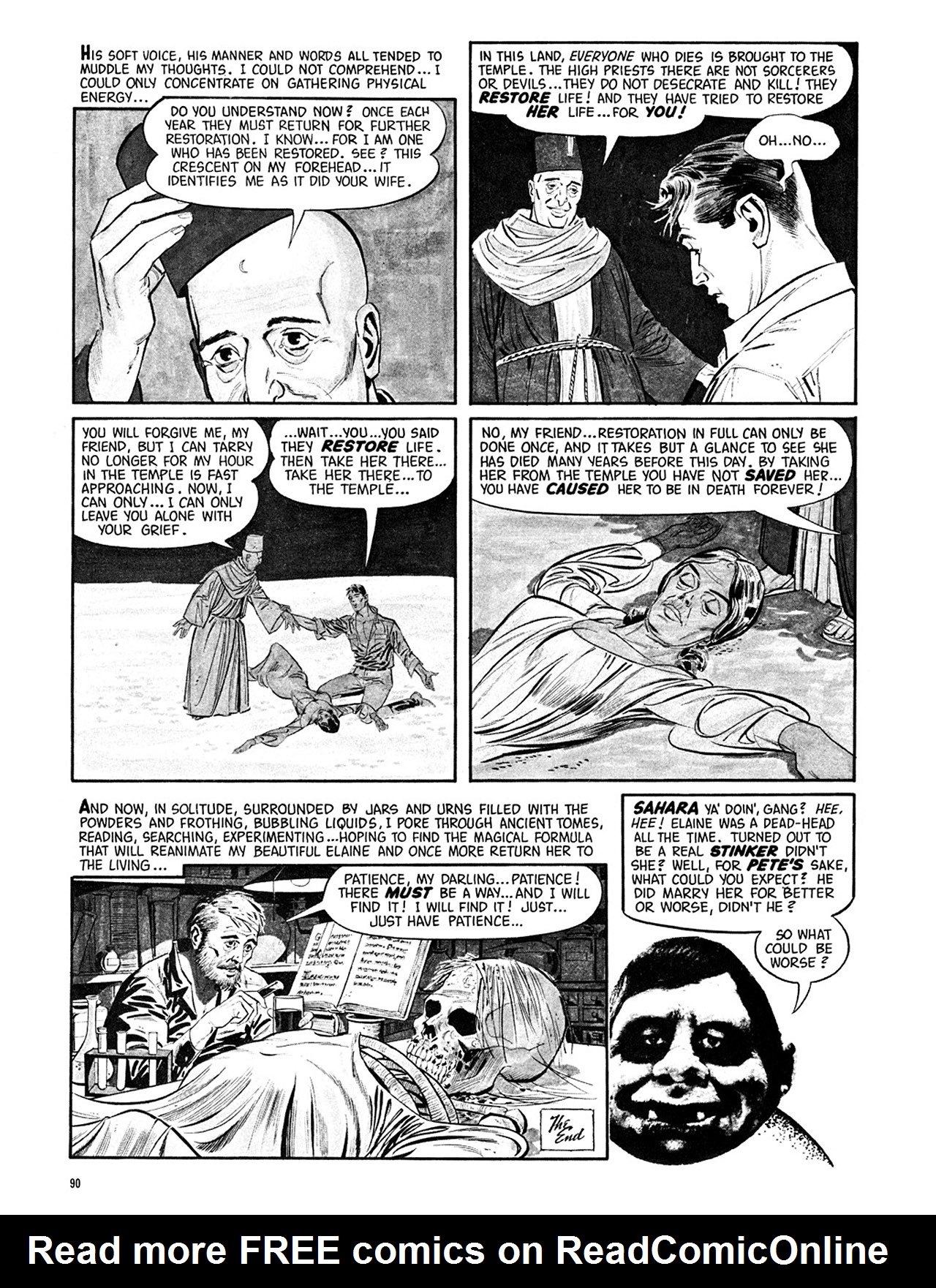 Read online Eerie Archives comic -  Issue # TPB 3 - 91