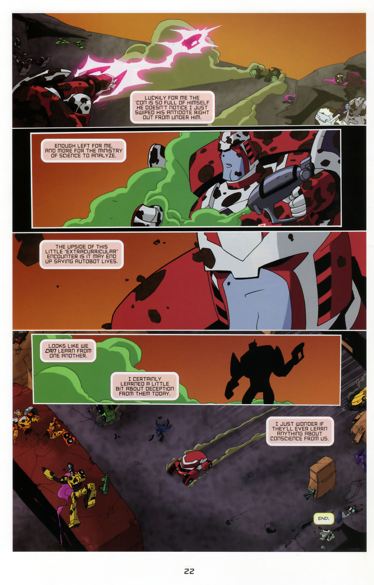 Read online Transformers Animated: The Arrival comic -  Issue #3 - 24