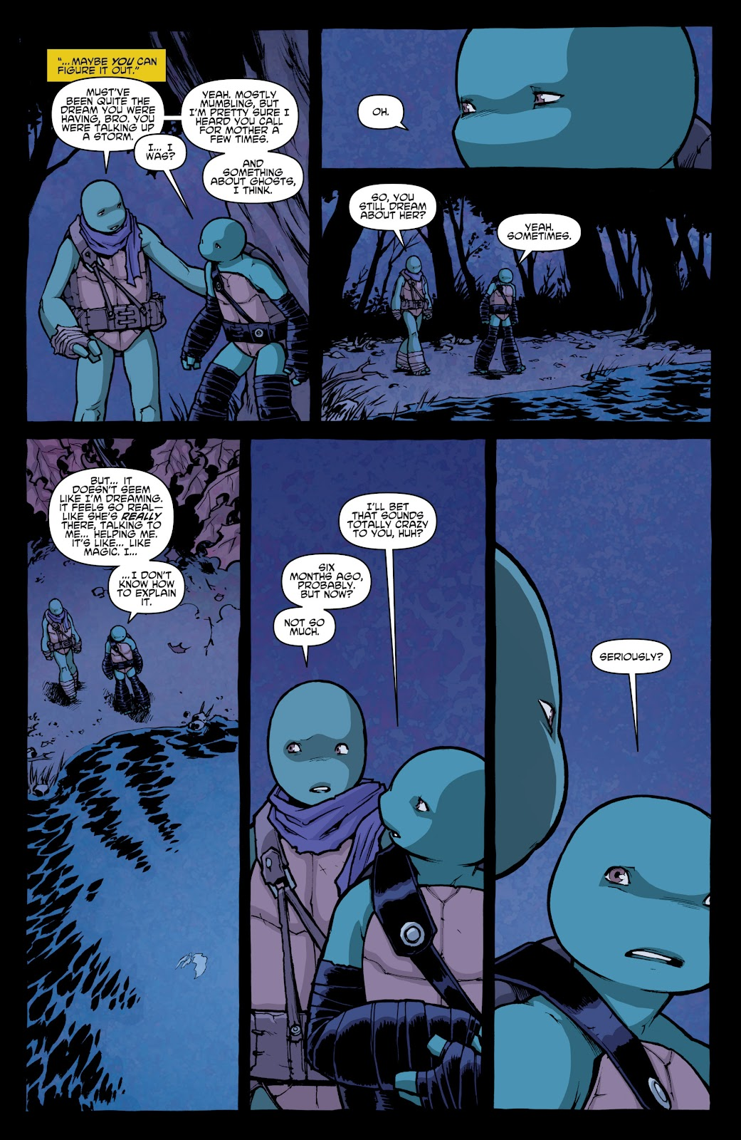 Read online Teenage Mutant Ninja Turtles: The IDW Collection comic -  Issue # TPB 4 (Part 1) - 67