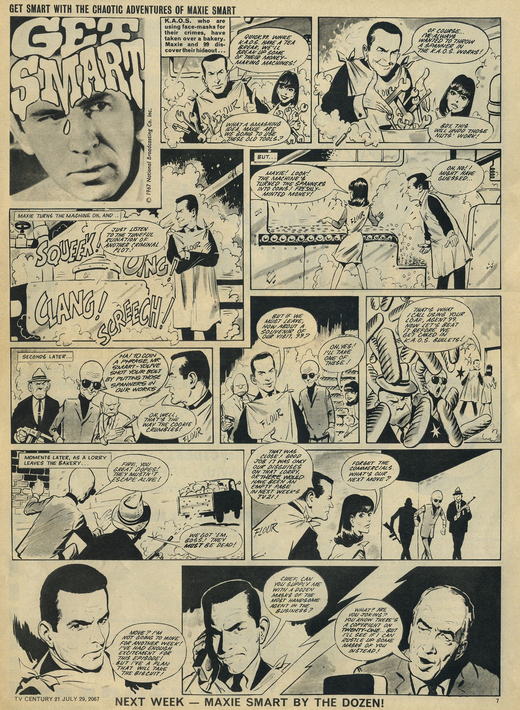 Read online TV Century 21 (TV 21) comic -  Issue #132 - 7