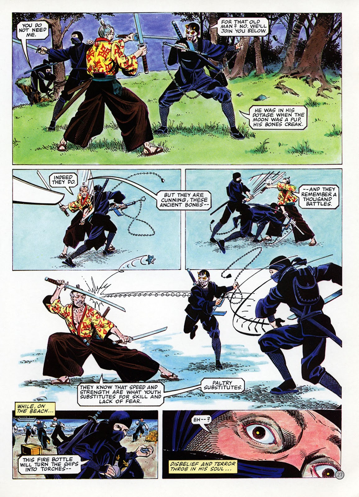 Read online Epic Graphic Novel: Last of the Dragons comic -  Issue # Full - 28