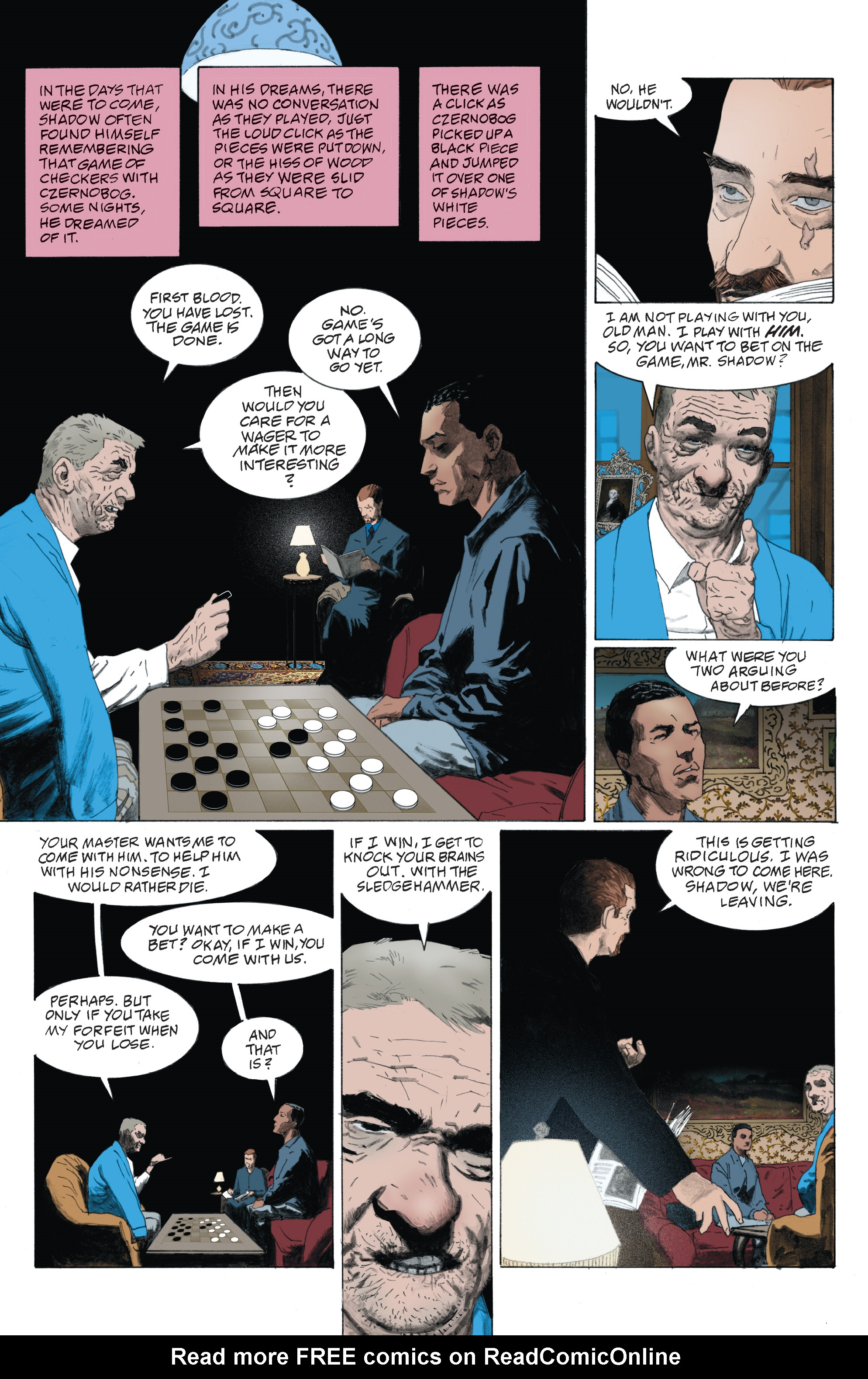 Read online American Gods: Shadows comic -  Issue #4 - 5